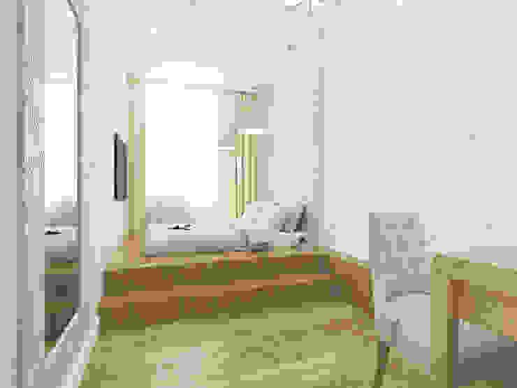 Chambre originale par OK Interior Design Éclectique