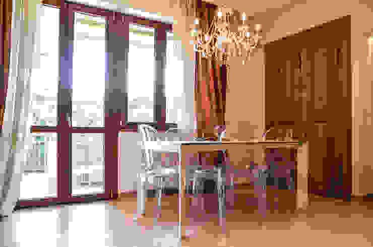 Minimal Living Vs. Liberty! Sala da pranzo minimalista di Luca Bucciantini Architettura d' interni Minimalista