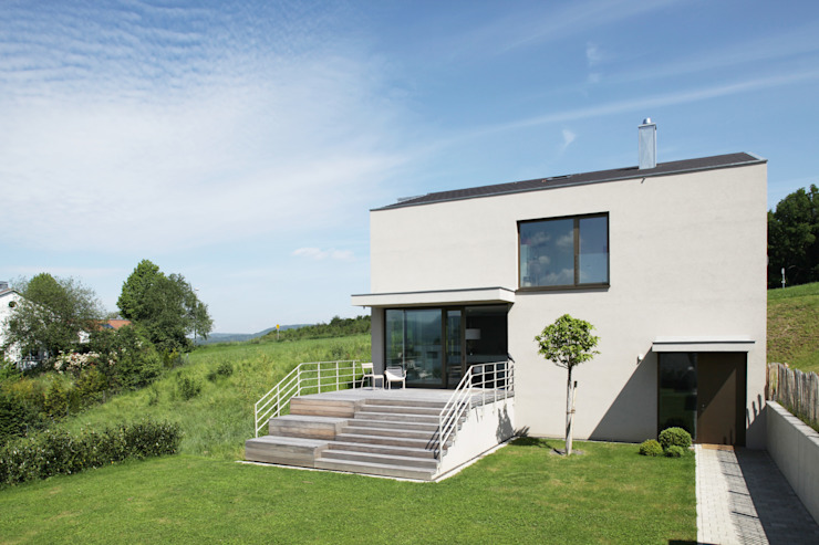 Дома в стиле модерн от Schiller Architektur BDA Модерн