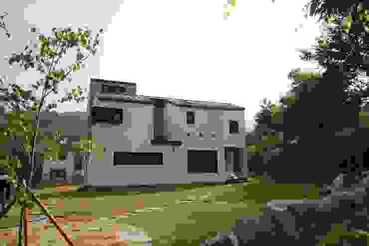 경기도 광주 퇴촌 전원주택 모던스타일 주택 by 봄 하우스플랜 모던