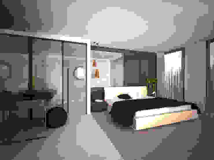 APARTMENT Modern Yatak Odası Sinem Oktay Modern