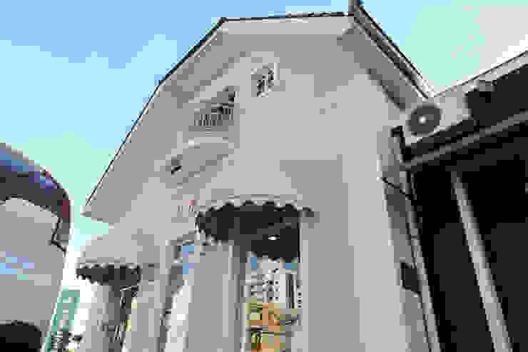 Cecyn Arquitetura + Design Locaux commerciaux & Magasin classiques Rose