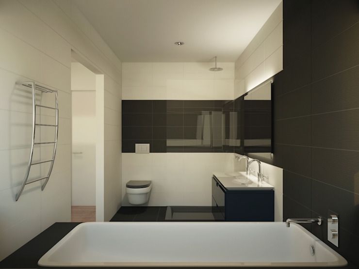 Instalação sanitária privada por Judite Barbosa Arquitetura