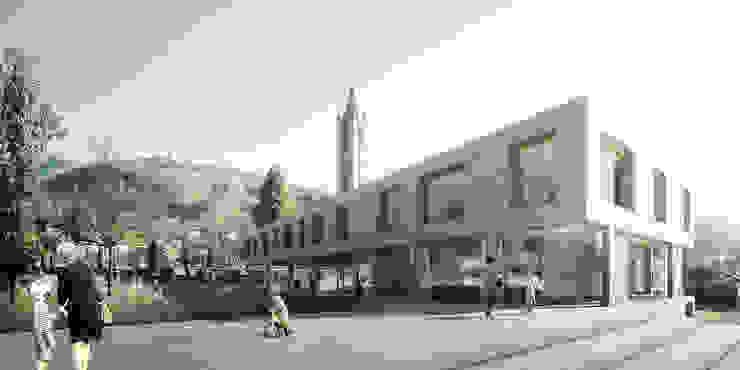 Primary school in Tesserete, Switzerland por Rosario Badessa