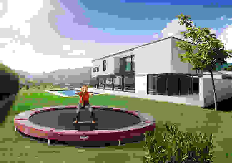 BERG InGround Elite+ 330/380/430 (Sports Series) BERG Toys B.V. Country style garden Plastic Red