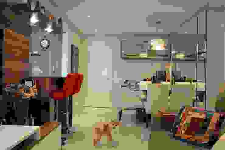 Projeto Residencial Expace - espaços e experiências Salas de jantar modernas