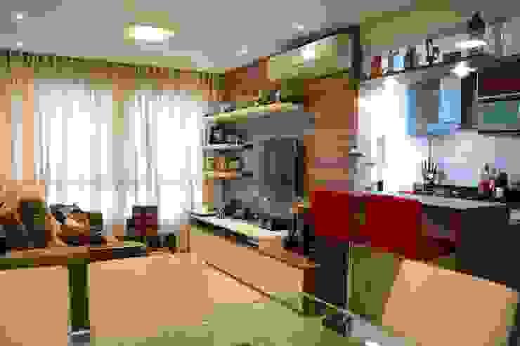 Living room by Expace - espaços e experiências, Modern