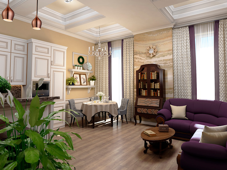 ЙОХ architects Living room