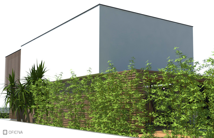 Casas modernas de OFICINA - COLECTIVO DE IDEIAS, LDA Moderno