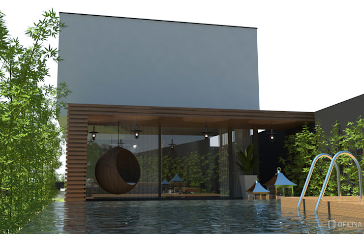 OFICINA - COLECTIVO DE IDEIAS, LDAが手掛けた庭