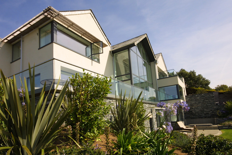 REPLACEMENT DWELLING, CORNWALL Modern houses by Arco2 Architecture Ltd Modern