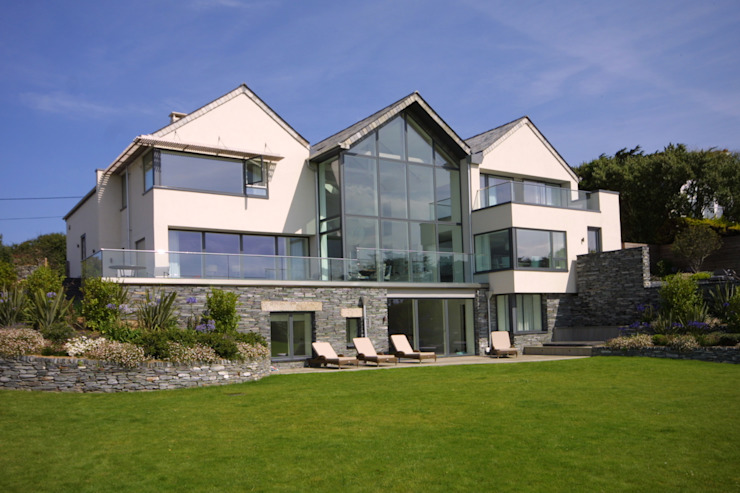 Replacement Dwelling in Trebetherick Cornwall by Arco2 Arco2 Architecture Ltd Modern houses