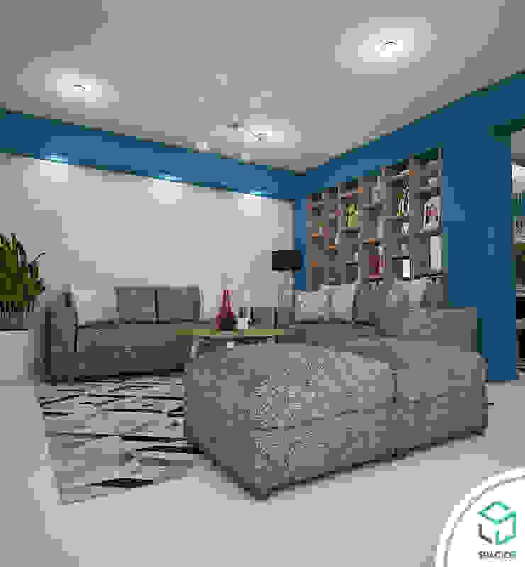 Sala Salas modernas de Spacio5 Moderno