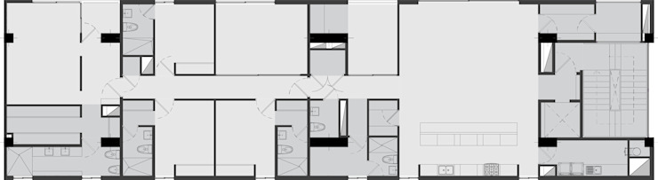 NOVE Casas modernas de MAT Latinamerica Moderno
