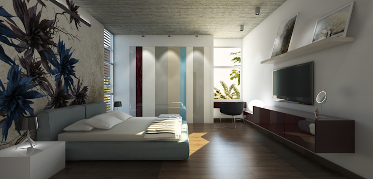 Modern style bedroom by MAT Latinamerica Modern