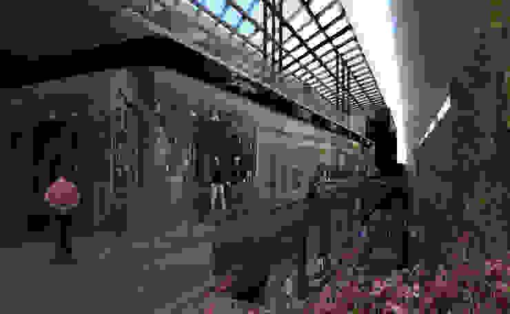 Interior del centro comercial Centros comerciales de estilo moderno de Arquitectos M253 Moderno