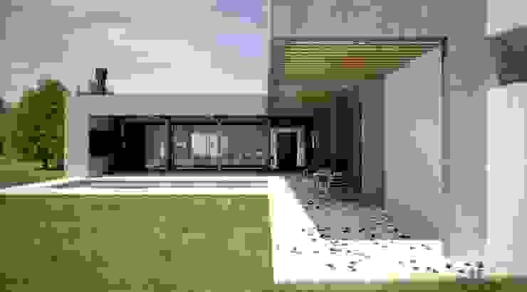 Casa en Lomas de San Antonio - Luján Casas modernas: Ideas, imágenes y decoración de Carma Arquitectura Moderno