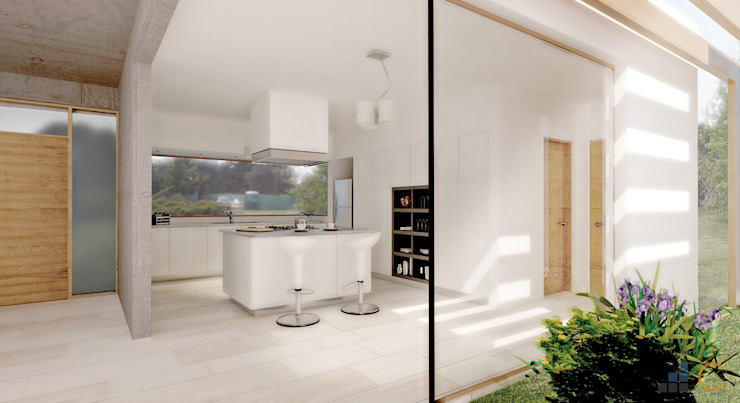Modern style kitchen by Carma Arquitectura Modern