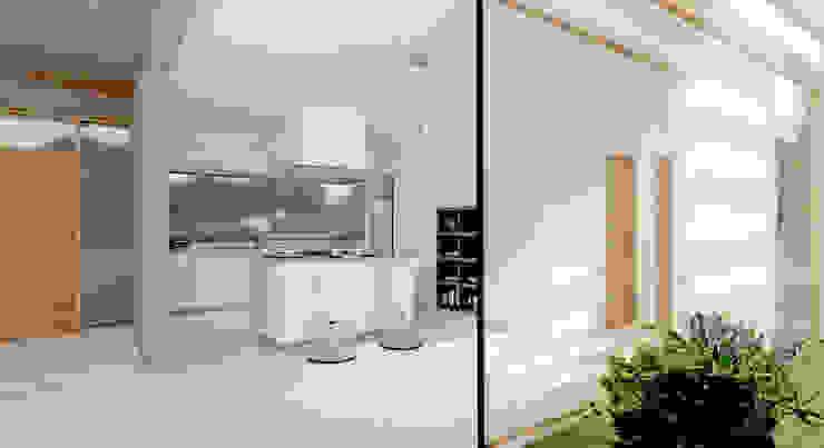 Casa en Lomas de San Antonio – Luján Cocinas modernas: Ideas, imágenes y decoración de Carma Arquitectura Moderno