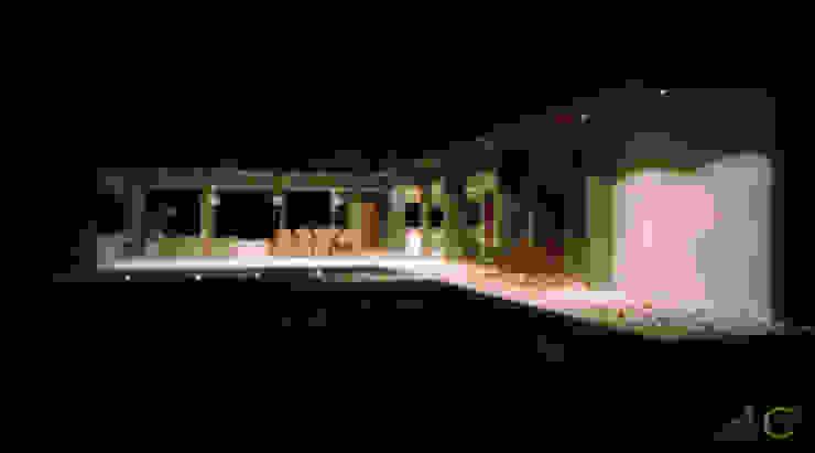 Casa en Lomas de San Antonio – Luján Casas modernas: Ideas, imágenes y decoración de Carma Arquitectura Moderno