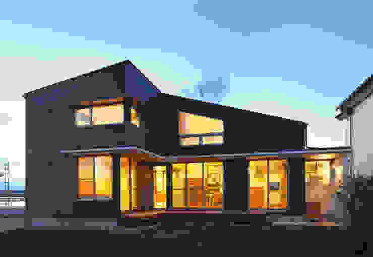 Eclectische huizen van かんばら設計室 Eclectisch