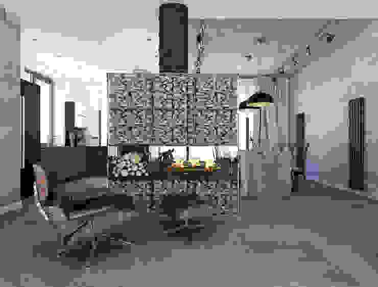 камин Гостиная в стиле модерн от ASTRO-GROUP Модерн