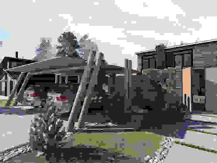 Жилой Дом Дома в стиле модерн от ASTRO-GROUP Модерн
