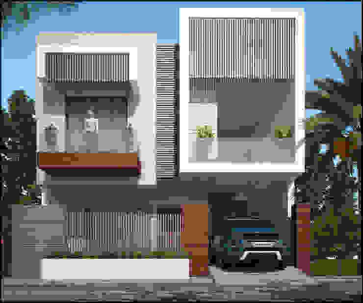 Mr. Narinder Handa Modern houses by Pixel Works Modern