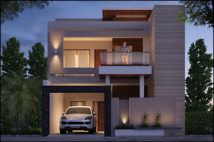 Mr. Aggarwal :  Houses by Pixel Works,Modern