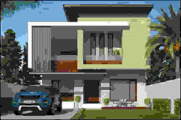 Mr. Chawla ji Modern houses by Pixel Works Modern