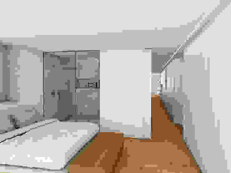 homify Minimalist bedroom White