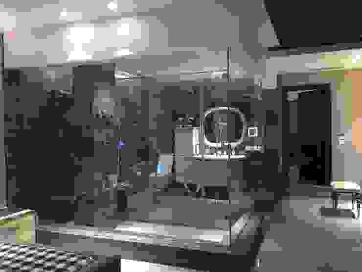 Project of Rajguru Nagar Modern bathroom by QBIX DESIGNS Modern
