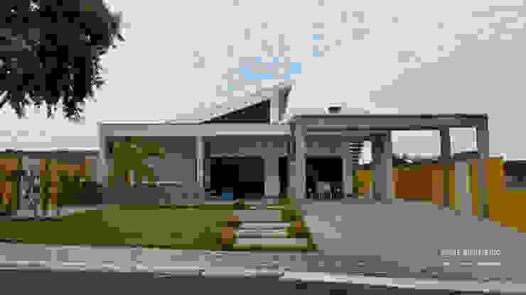 Modern houses by Monteiro arquitetura e interiores Modern