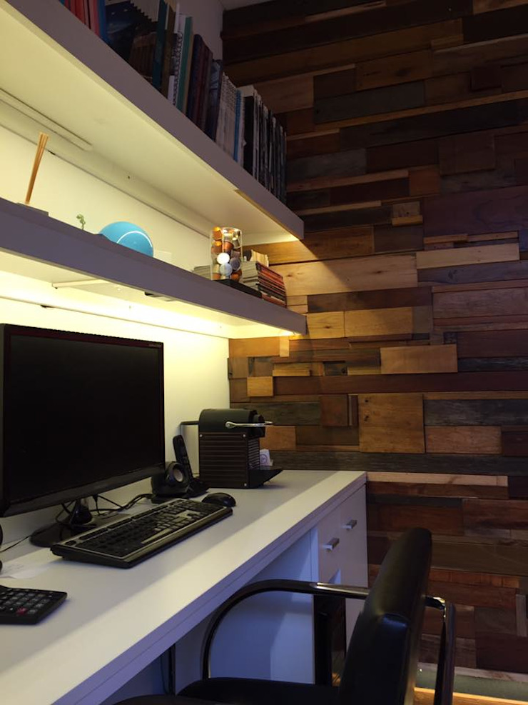 Modern Study Room and Home Office by DX ARQ - DisegnoX Arquitectos Modern