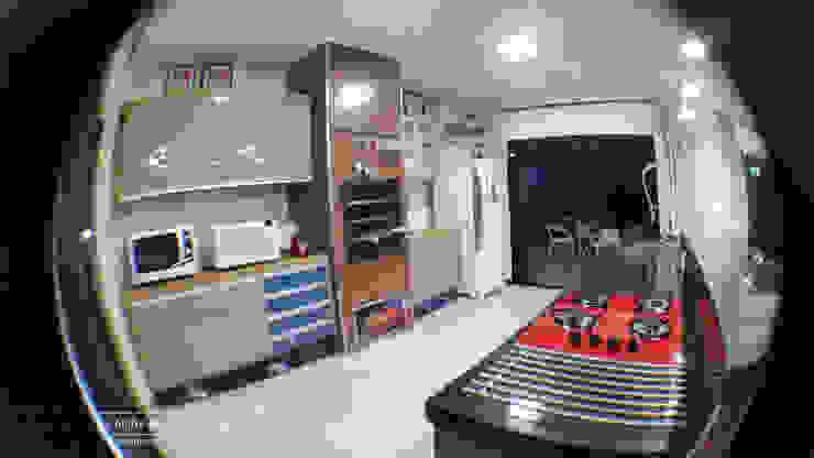 Cozinha gourmet por Monteiro arquitetura e interiores Moderno