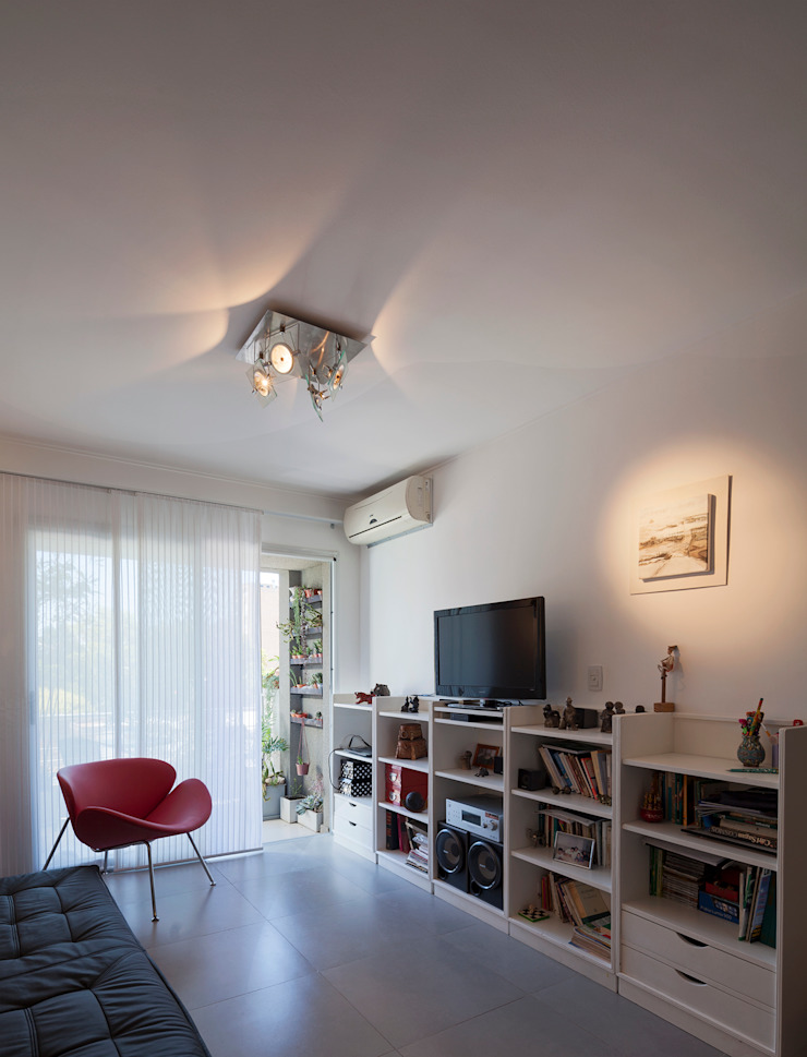 ARCADIA 2 Livings modernos: Ideas, imágenes y decoración de Arcadia Arquitectura Moderno