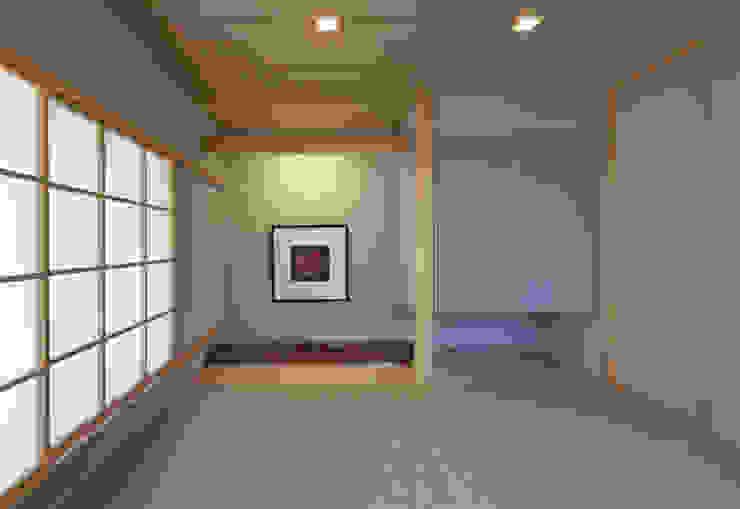 かんばら設計室 Eclectic style bedroom