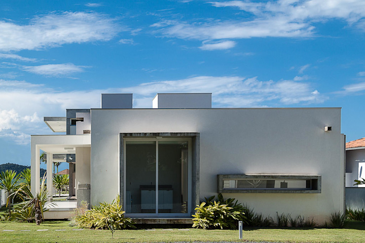 Houses by PJV Arquitetura, Modern کنکریٹ