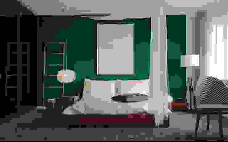 ul. Głowackiego Modern Bedroom by enem.studio Modern