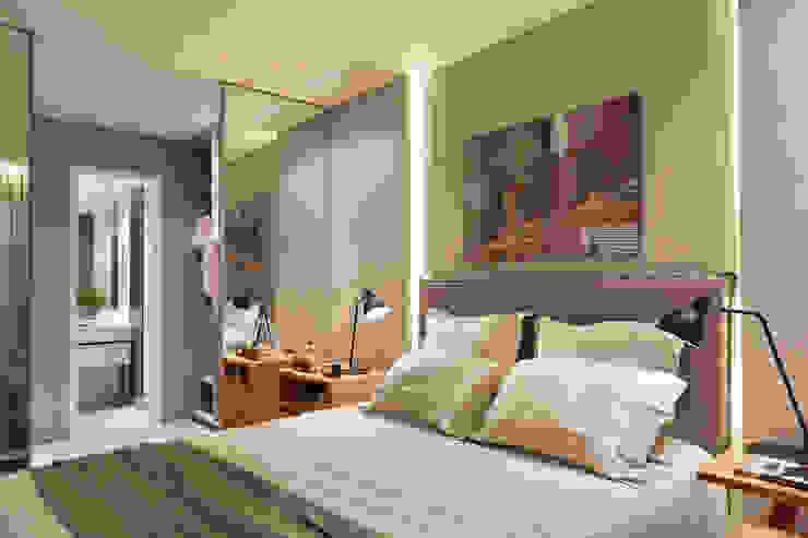 Apartamento decorado Calper 根據 Gisele Taranto Arquitetura 現代風