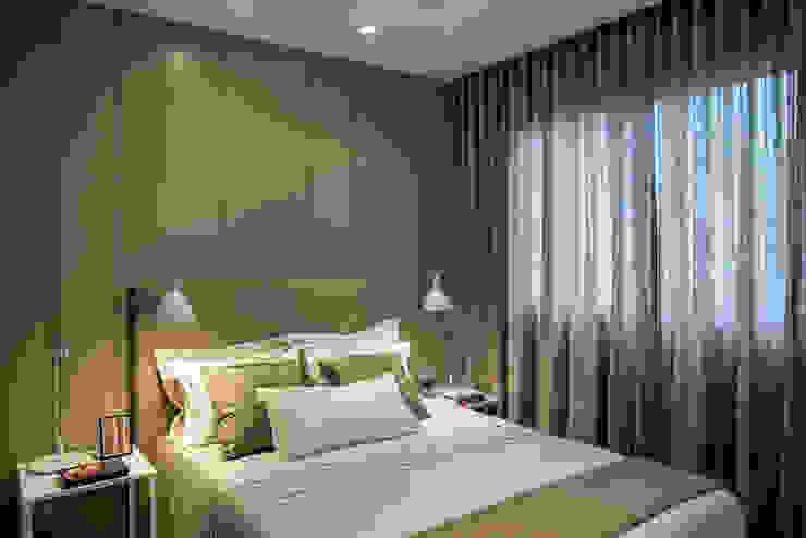 Apartamento decorado RJZ - Quartos modernos por Gisele Taranto Arquitetura Moderno