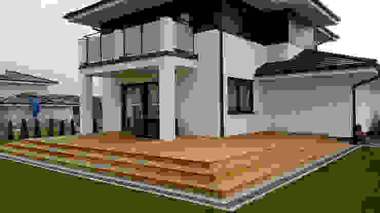 Moderne Häuser von Biuro Projektów MTM Styl - domywstylu.pl Modern