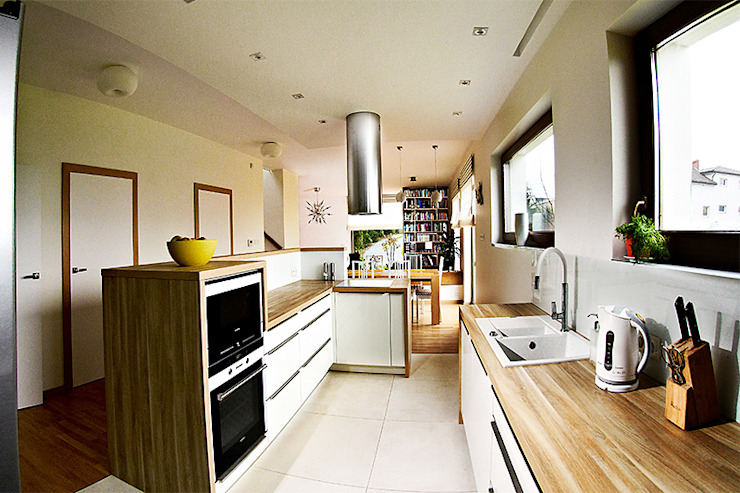 Dapur Modern Oleh Biuro Projektów MTM Styl - domywstylu.pl Modern