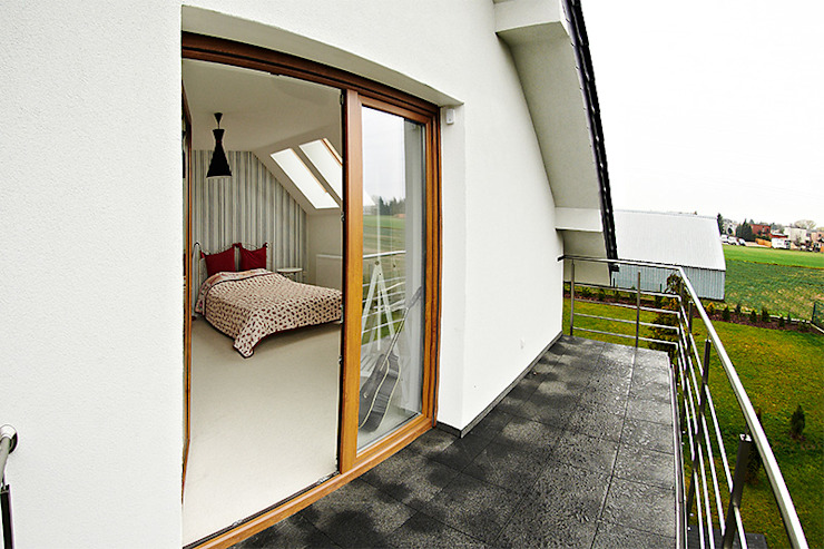 Kamar Tidur Modern Oleh Biuro Projektów MTM Styl - domywstylu.pl Modern