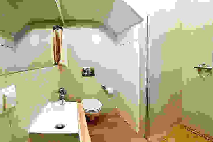 Casas de banho  por Biuro Projektów MTM Styl - domywstylu.pl