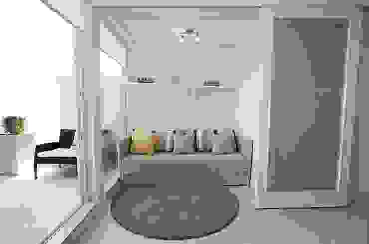 Terraza Pacifico 2 dormitorios VdecoracionesCL SalasSalas y sillones