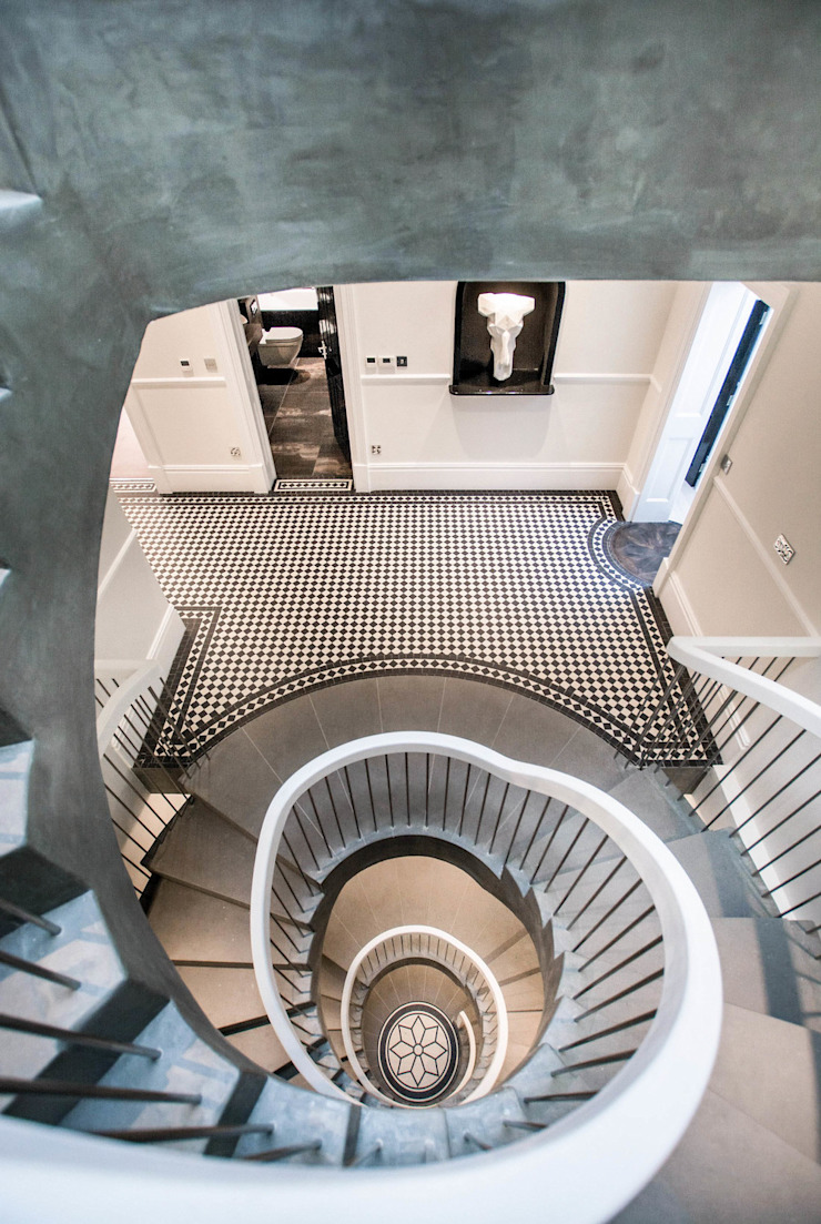 The Cooke's Vogue Kitchens Modern Corridor, Hallway and Staircase