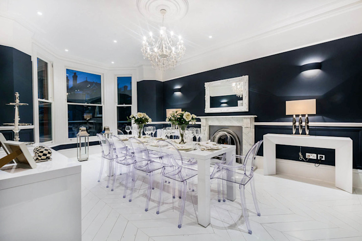 The Cooke's Vogue Kitchens Modern dining room