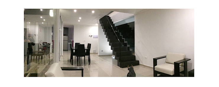 Living room by Herman Araya Arquitecto y constructor, Modern