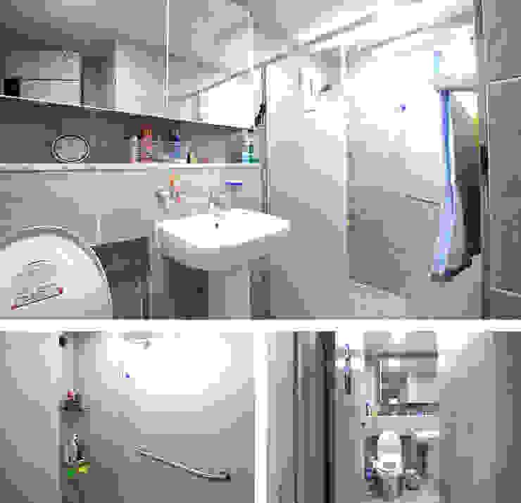 모던함 속에 고급스러움을 간직한 전원주택[충남 천안] 모던스타일 욕실 by 지성하우징 모던